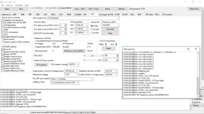 limesdr-SXT-calculate