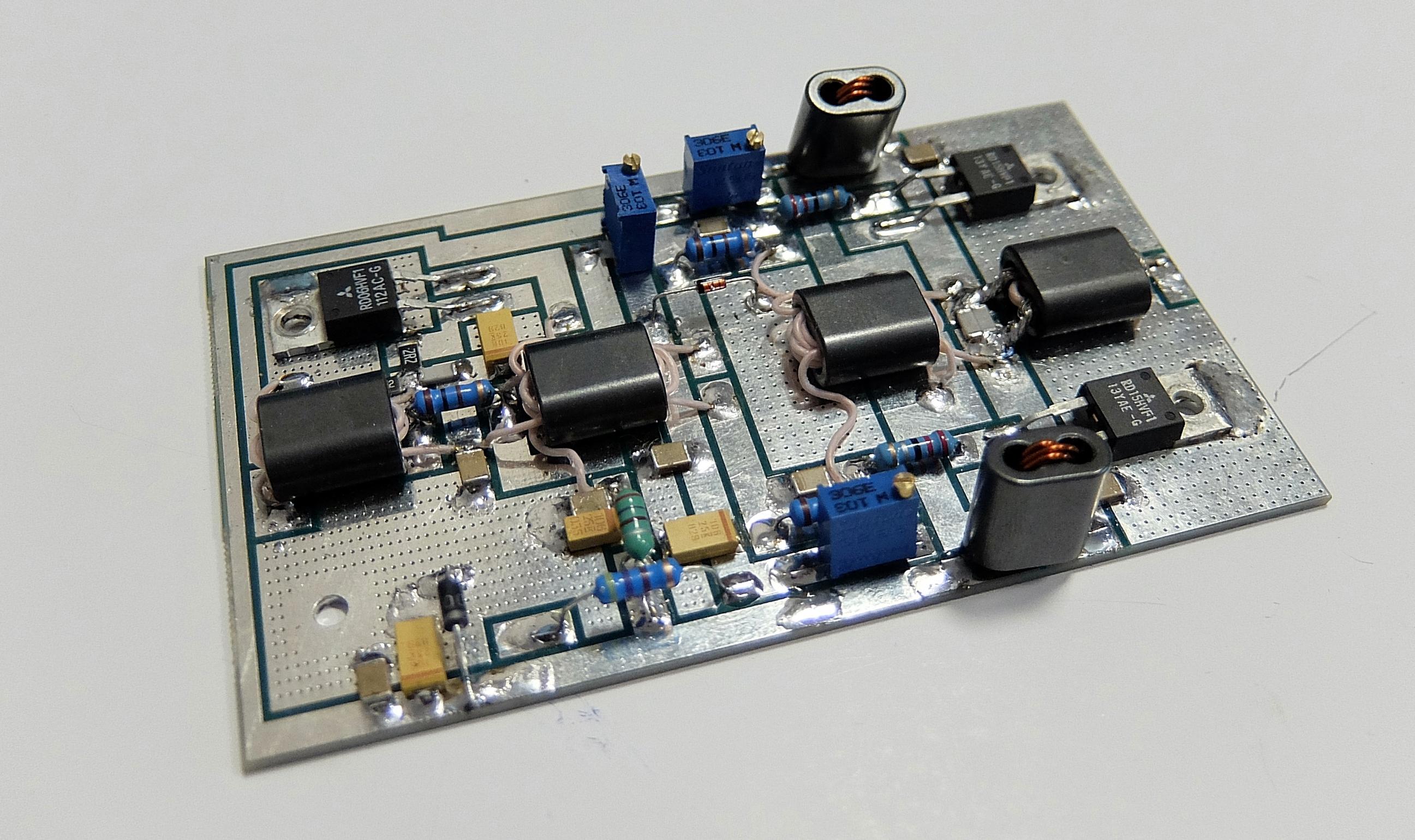Ham Hf 6m Qrp Pa 10w 5w 2m Board And 600w Version For 15w Vhf Amplifier Dscf11312593x1541 226 Mb