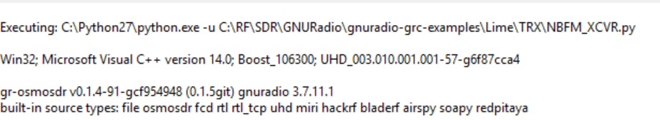 Working NBFM transceiver on GNU radio - Amateur Radio