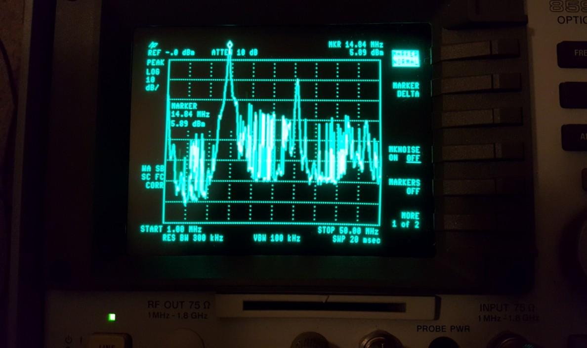 LimeSDR Transmits HF Voice on 20m Using SDRAngel - LimeSDR - Myriad