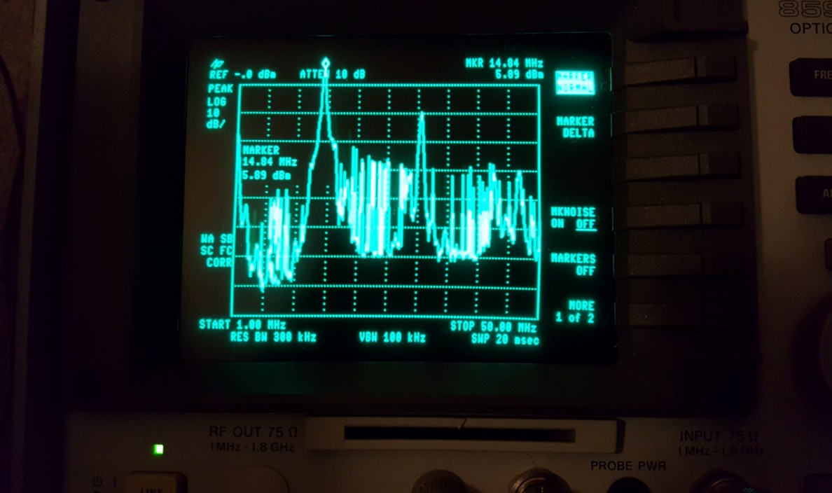 LimeSDR Transmits HF Voice on 20m Using SDRAngel - LimeSDR
