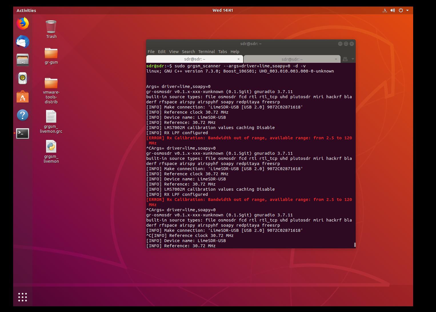 Gqrx Ubuntu