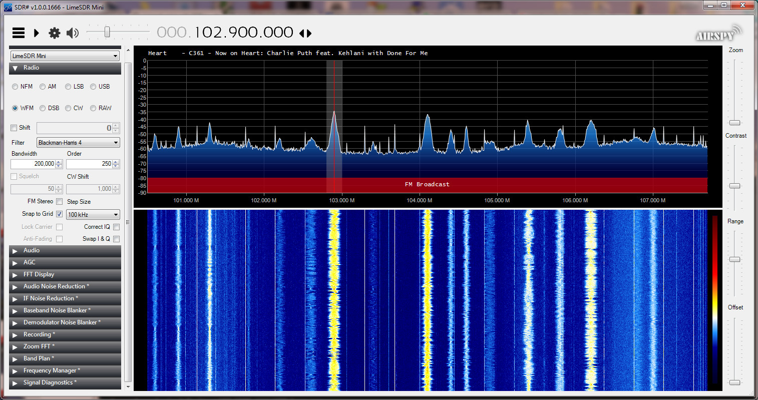 Limesdr mini with SDRsharp - LimeSDR - Myriad RF Discourse
