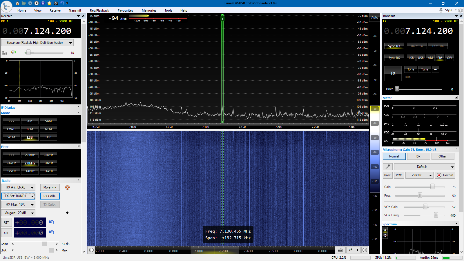 Happy days are here again - LimeSDR lives in HF! - LimeSDR - Myriad