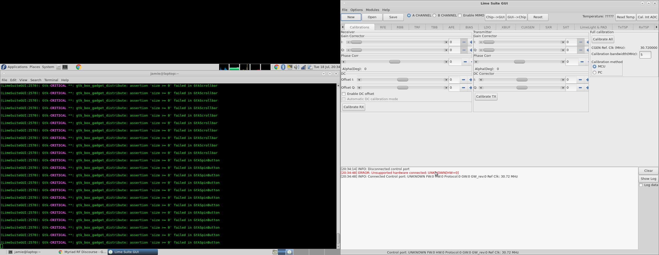 Limesdr installation issues - LimeSDR - Myriad RF Discourse