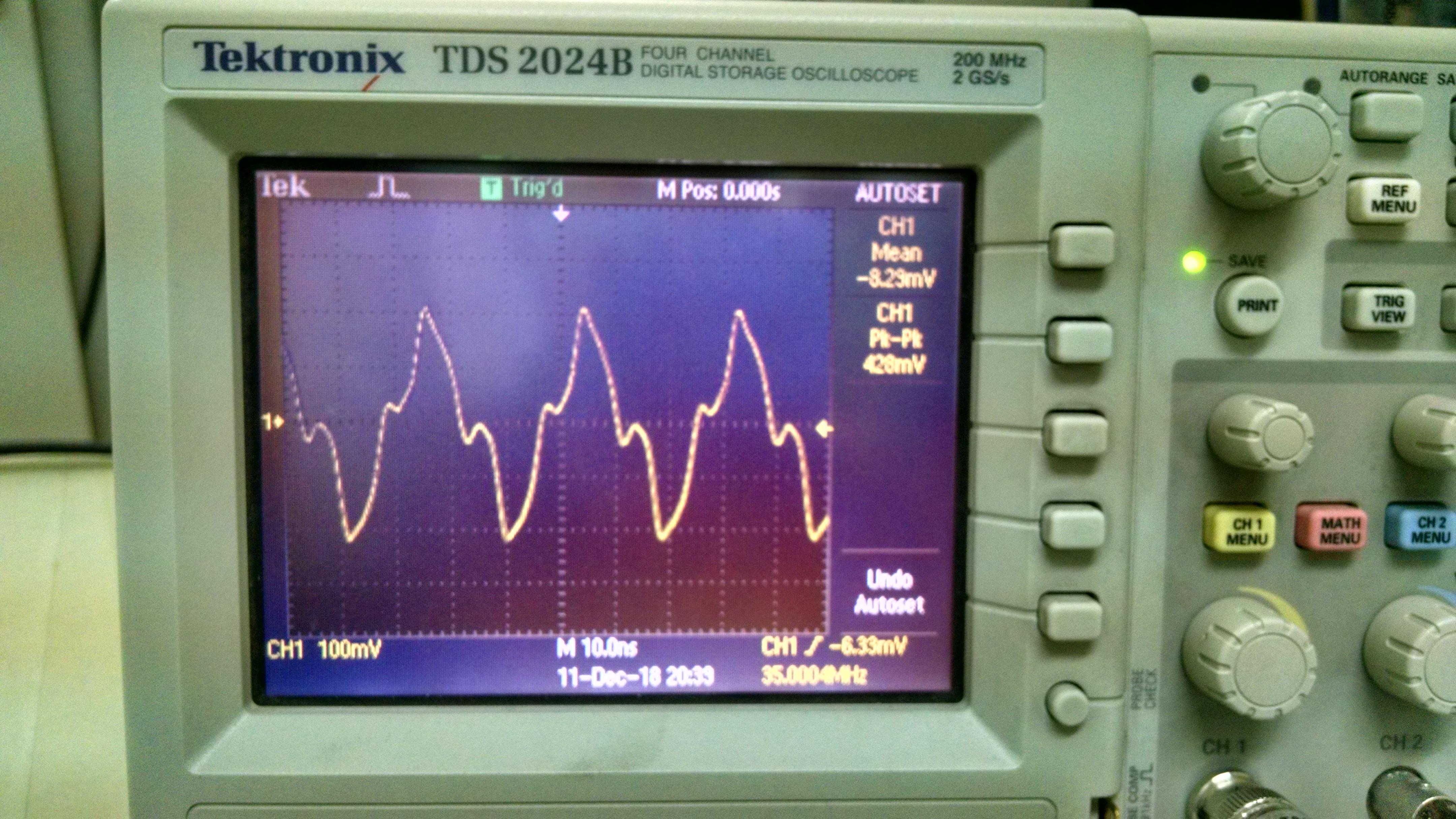 LimeSDR signal generation distortion - LimeSDR - Myriad RF
