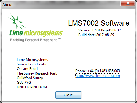 LimeSDR_Software_Version_last