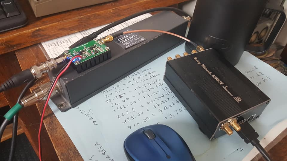 LimeSDR Transmits and Receives WSPR on 40m using SDRAngel - Amateur