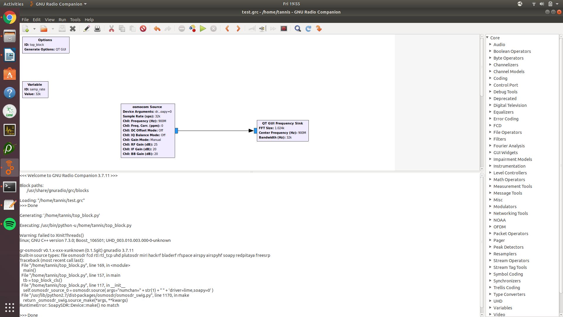 Help Installing GNU Radio + GQRX w/ LimeSDR Mini + Ubuntu