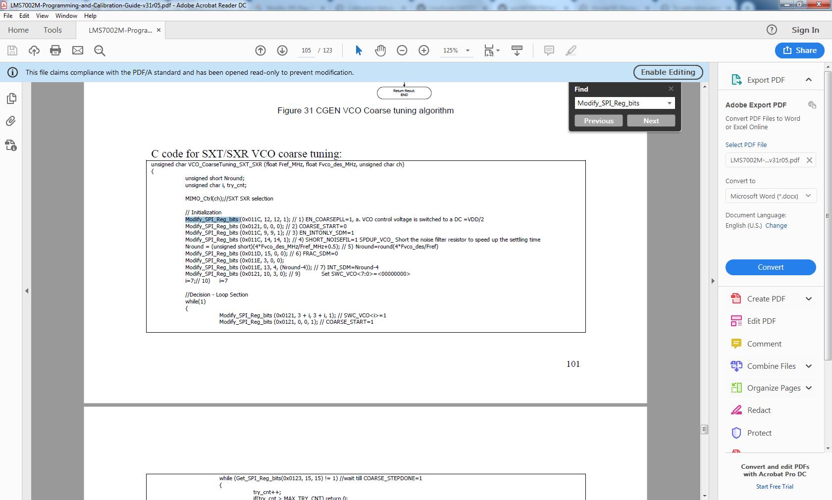 LMS7002M Calibration Help - General Discussion - Myriad RF Discourse