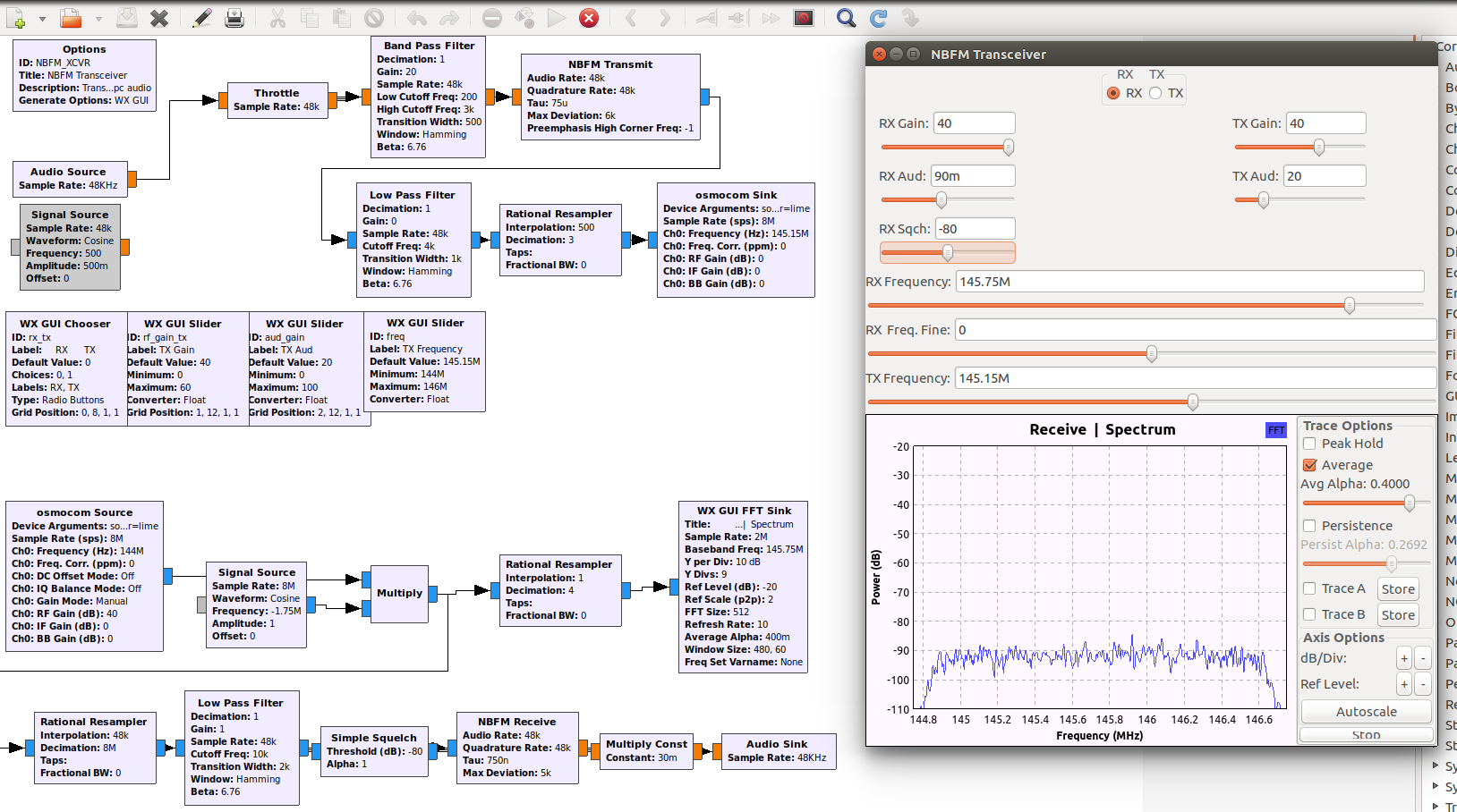 LimeSDR setup with GnuRadio - LimeSDR - Myriad RF Discourse