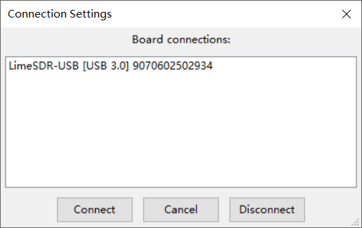 limeSDR on Vmware Ubuntu 18 04 not find the device - LimeSDR